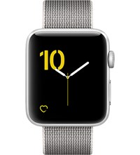 Apple Series 2 Silver Aluminium 42Mm Watch Pearl