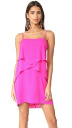 Amanda Uprichard Sienna Dress Hot Pink