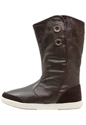 Kangaroos Fernanda Winter Boots Dark Brown