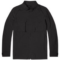 White Mountaineering Soft Shell Windstopper Jacket Black