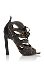 Brian Atwood Herica Ankle Sandal Grey