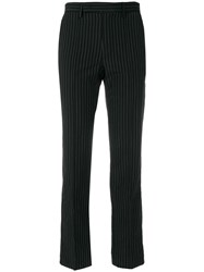 Yang Li Tailored Fitted Trousers Black