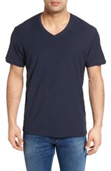 Rodd And Gunn Men's Nelson V Neck T Shirt Navy
