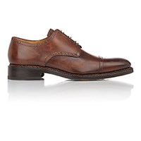 Harris Men's Cap Toe Bluchers Brown