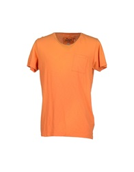 Franklin And Marshall T Shirts Orange
