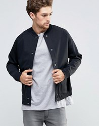 Lee Sweat Bomber Jacket Bonded Black Black Black