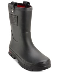 Polo Ralph Lauren Men's Warrington Rain Boots Men's Shoes Black Black