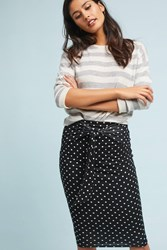 Bailey 44 Polka Pencil Skirt Black Motif