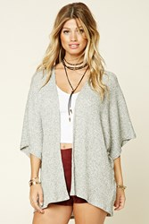 Forever 21 Marled Batwing Cardigan