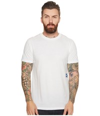Rvca Glitch Box Tee Antique White Men's T Shirt