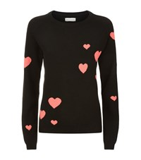 Chinti And Parker Heart Cashmere Jumper Female Black