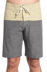 Men's Cova 'Coastline' Colorblock Board Shorts Bamboo