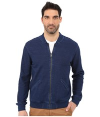 Lucky Brand Bomber Jacket Indigo Men's Coat Blue