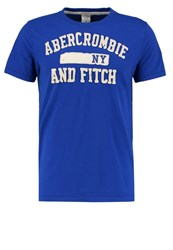Abercrombie And Fitch Print Tshirt Blue