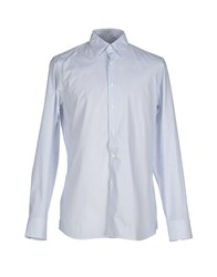 Prada Shirts Shirts Men Azure
