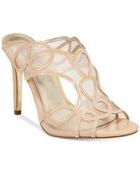 Adrianna Papell Glam Evening Sandals Women's Shoes Nude
