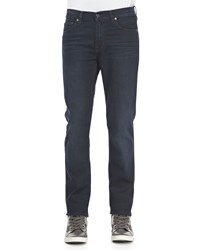 Acne Studios Ace Soft Blue Black Five Pocket Jeans Navy