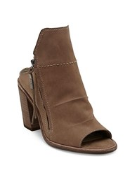 Dolce Vita Lennox Leather Ankle Boots Light Taupe