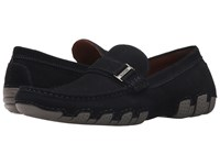 Kenneth Cole Reaction Later Driver B Navy Slip On Shoes
