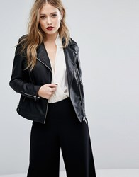 Supertrash Jamy Biker Jacket Black