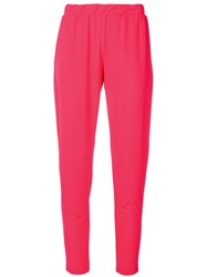 Le Tricot Perugia Classic Sweatpants Pink And Purple