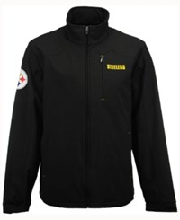 G3 Sports Men's Pittsburgh Steelers Fullback Softshell Jacket Black