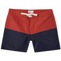 Saturdays Surf Nyc Ennis Boardshort Red