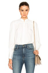 Frame Denim Chloe Top In White