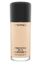 M A C Mac 'Studio Fix' Fluid Foundation Spf 15 Nc15