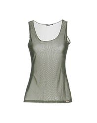 Ean 13 Tank Tops Military Green