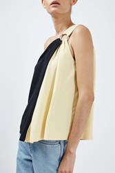 Boutique Asymmetric Ring Top By Multi