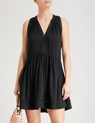 Seafolly Laddered Woven Dress Black