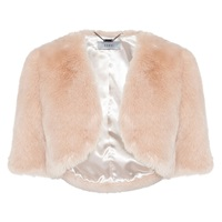 Coast Faux Fur Cover Up Blush