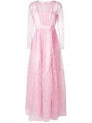 Si Jay Tulle Ball Gown Pink And Purple