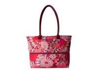 Vera Bradley Lighten Up Expandable Travel Tote Bohemian Blooms Tote Handbags Multi
