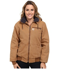 Weathered Duck Wildwood Jacket Carhartt Brown Birch Sherpa Women's Jacket