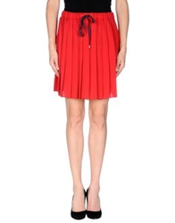 Ottod'ame Mini Skirts Red