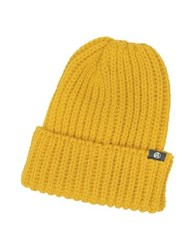 Paul Smith Thick Knit British Wool Men's Beanie Hat Mustard Yellow