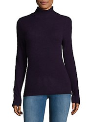 Cashmere Saks Fifth Avenue Turtleneck Sweater Charcoal