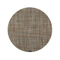 Chilewich Basketweave Round Placemat Willow