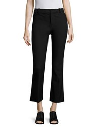 Derek Lam Cropped Flared Pants Black