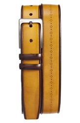 Mezlan Men's Ascot Diver Leather Belt