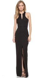 Aq Aq Jewel Maxi Dress Black