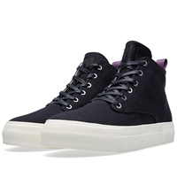 Eytys Odyssey Canvas Hi Top Sneaker Black