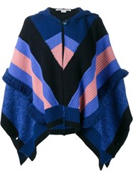 Stella Mccartney 'Snow' Cape Blue