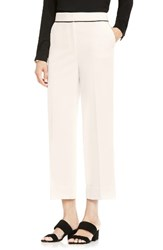 Vince Camuto Women's Cuffed Crop Pants Antique White