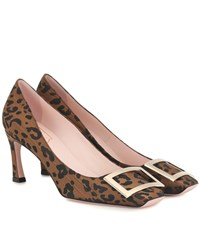 Roger Vivier Exclusive To Mytheresa Belle Trompette Pumps Brown