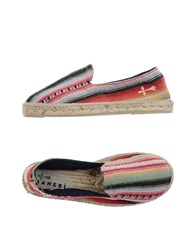 Manebi Footwear Espadrilles Men Garnet