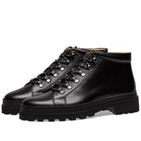 A.P.C. Ludwig Hiking Boots Black