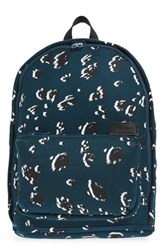 State Bags Slim Lorimer Backpack Blue Legion Animal